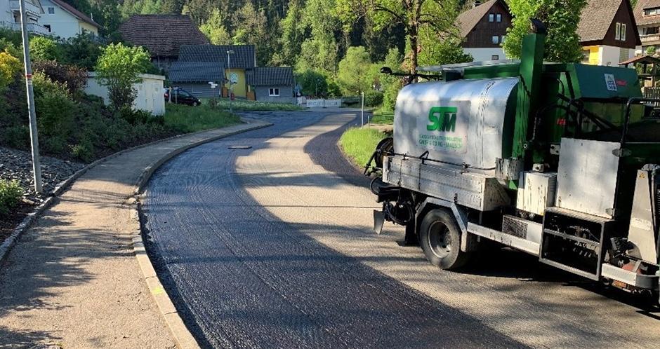 Instandsetzung der Dorfstraße in Gremmelsbach