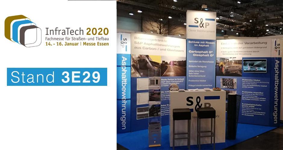 S&P auf der Fachmesse InfraTech in Essen 2020