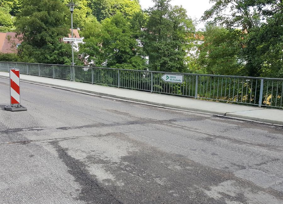 Weißensteiner Brücke Fräsen